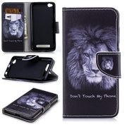 Soft Lithe Flip Luxury Leather Wallet Package Case For Redmi 4A Trend Capa Pattern Cat Case For Funda Redmi 4A Cover Cards Slot