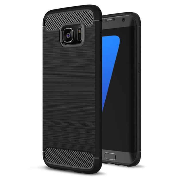 Soft Silicone Fiber Cases For Samsung Galaxy S7 S8 Case For Samsung Galaxy A3 A5 2017 Case S6 S7 Edge J5 2016 Prime Cases P35