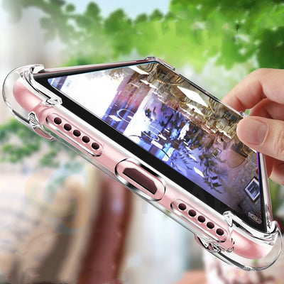 Soft Skin Flexible Bumper Clear TPU Case For Xiaomi Mi A2 Lite Case Transparent Soft Coque For Xiaomi Redmi 6 Pro Back Cover