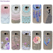 Soft TPU Cases For SAMSUNG Galaxy S6edge SM-G925F Cases For Fundas SAMSUNG S6 Edge G925FD G925 Cases Full Housing Capa Covers