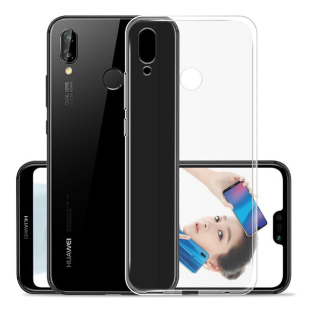 Soft TPU PC Case For Huawei P30 Pro Nova 4 Mate20X Mate 20 Lite Silicon Transparent Clear Back Cover For Huawei Honor Play 8X