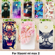 TAOYUNXI Mobile Phone Case For Xiaomi Mi Max 2 Cover Mi Max2 6.44 Inch Case Hard Plastic Soft TPU Cute Animal Painting Bag Skin