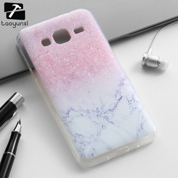 TAOYUNXI Soft TPU Phone Cover Case For Samsung Galaxy J3 2016 J300 J310 J310F J310H J310M SM-J320 J300F J320Y Covers Skin Back