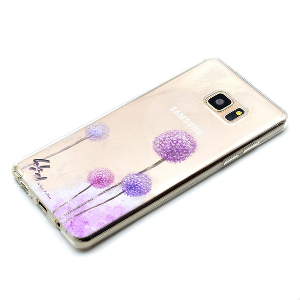 TAOYUNXI Soft TPU Phone Cover Case For Samsung Galaxy NoteV N9200 Note5 N920T N920A N920I N920G N9208 N920C Covers Phone Cases