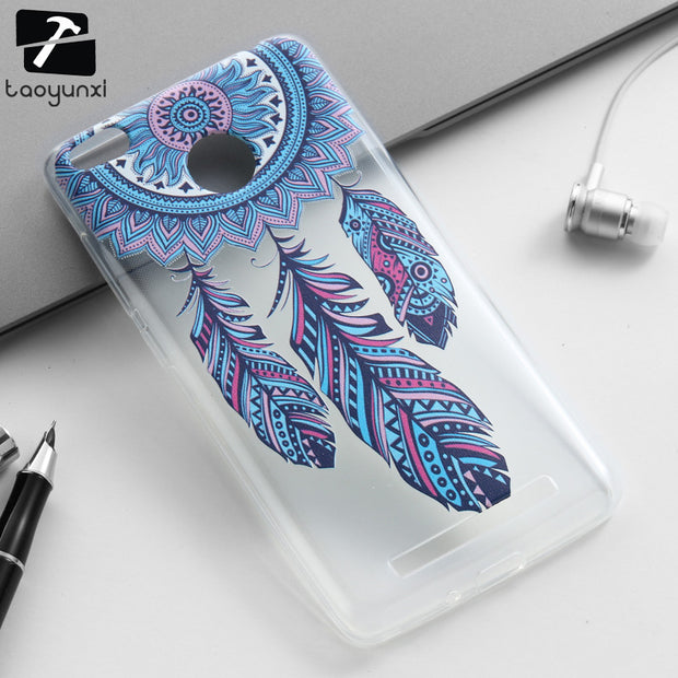 TAOYUNXI Soft TPU Phone Cover Case For Xiaomi Redmi 3S 3 S Redmi 3 Pro Redmi 3S Pro Redmi3 Pro Covers Cases Silicon Skin