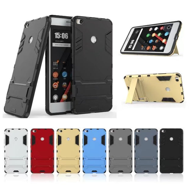 TPFIX Luxury Clips Case Coque Silicone Plastic Cover For Xiaomi Mi Max 2 Xiomi Mi Mix 2 Soft Edge Hard PC Back 2 In 1 Holster