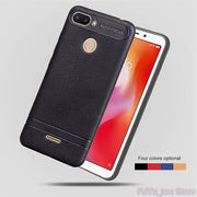TPU Case For Xiaomi Redmi 6 Soft Silicone Case Mobile Phone Cover For Xiao Mi Red Redmi6 M1804C3DE M1804C3DT Protector Shell