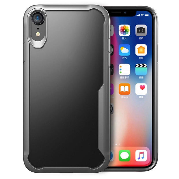 TPU PC Phone Protective Case Back Cover For IPhone XS/XR/XS Max Easy To Install And Take Off Phone Back Cover.