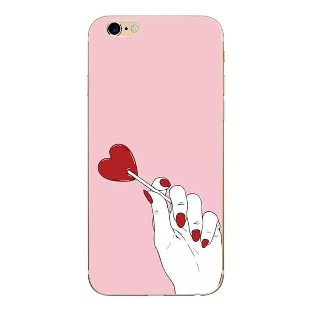 TPU Silicone Case For Iphone 6 S 6 5 5s Se Iphone 7 8 Plus Cover For Fundas De Iphone X 5 Silicona Apple Caso Iphone 8 Lusso
