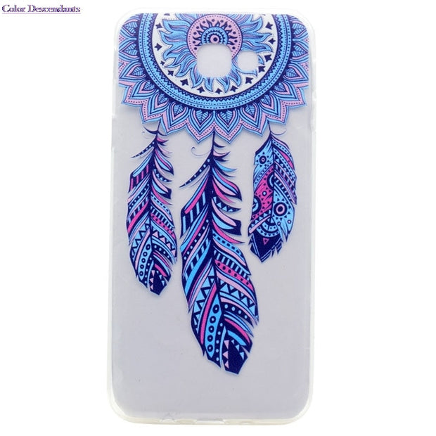 TPU Soft Silicone Case For Samsung Galaxy J7 Prime J 7 Prime Duos G610F DS SM-G610F G610F/DS SM-G610F/DS J7Prime Phone Cases Bag
