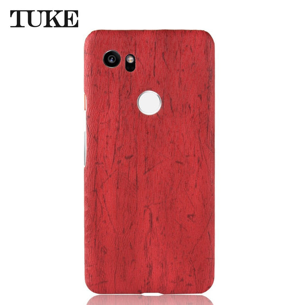 TUKE Phone Case For Blackberry Edition Silver Funda Leather Wood Grain Plastic Back Cover Coque Carcasa