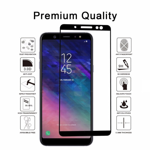 Tempered Glass For Samsung Galaxy J5 J7 J3 2017 A5 A7 A3 2017 2016 A7 A8 A6 Plus Screen Protector For J4 J6 J8 2018 S8 S9 Plus