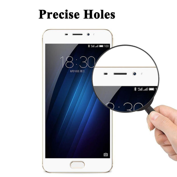 Tempered Glass Screen Protector Case For Meizu M5S Glass Protector For Meizu M5S 5S Full Coverage Screen Protection Cover Film