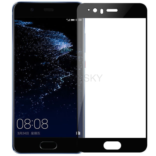 Tempered Glass For Huawei P10 P20 P Smart Y5 Y6 Y9 2018 Screen Protector Film Case Glass On Honor 8 9 Lite 10 7C 7X 7A 6X 6A 15
