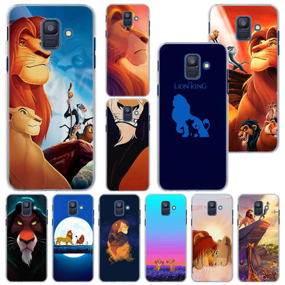 The Lion King Phone Case For Samsung Galaxy A6 A6+ A8 A8+ 2018 PC Hard Case Cover For Galaxy A320 A5 A7 2017