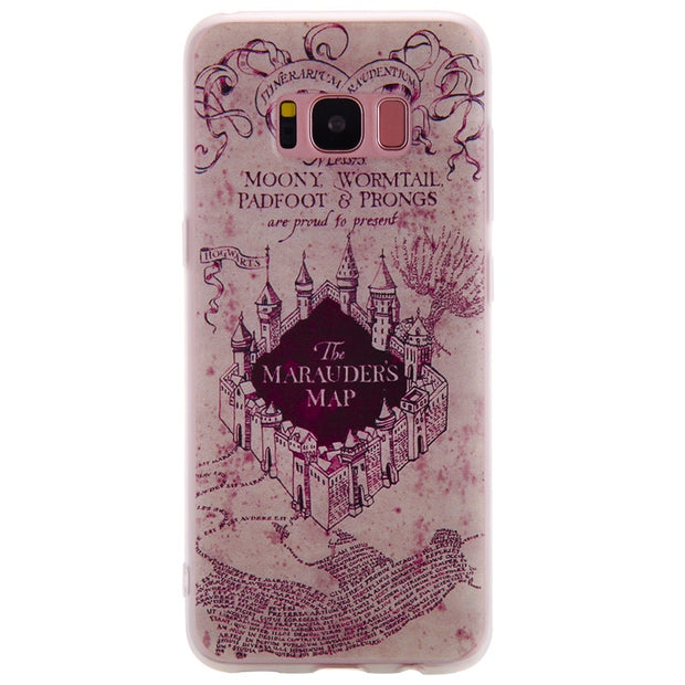TopArmor Relief TPU Case For Samsung GALAXY S7 S7 Edge---castle Pattern