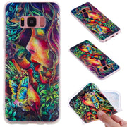 TopArmor Relief TPU Case For Samsung Galaxy S8 S8PLUS---kiss Pattern