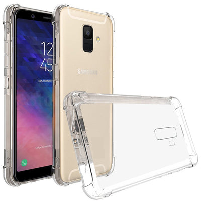 Transparent Silicone Case A6 2018 Shockproof Phone Case Soft TPU Back Cover For Samsung Galaxy A6 A 6 2018 A600F A600 SM-A600F