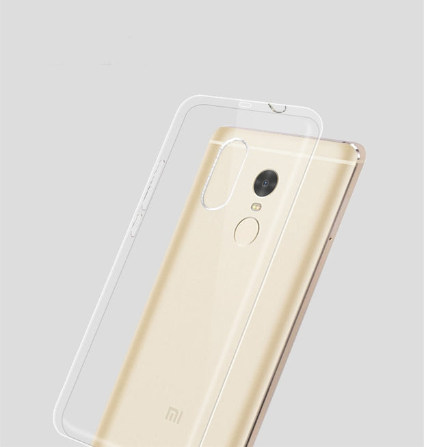 Transparent Soft TPU Gel Case For Xiaomi Redmi 5 Plus Teana Redmi 5 Plus Case Clear Cover Thin Silicone Rubber Case