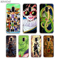 Transparent TPU Phone Cases Anime Vegeta Gohan For Samsung Galaxy A8 A7 A6 A5 A3 Plus 2018 2017 2016