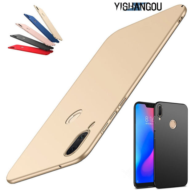 Ultra Slim Scrub Phone Case For Huawei Y9 2019 Honor 8X Magic 2 10 Frosted Matte Hard Cover For Huawei P20 Lite Mate 10 20 Pro