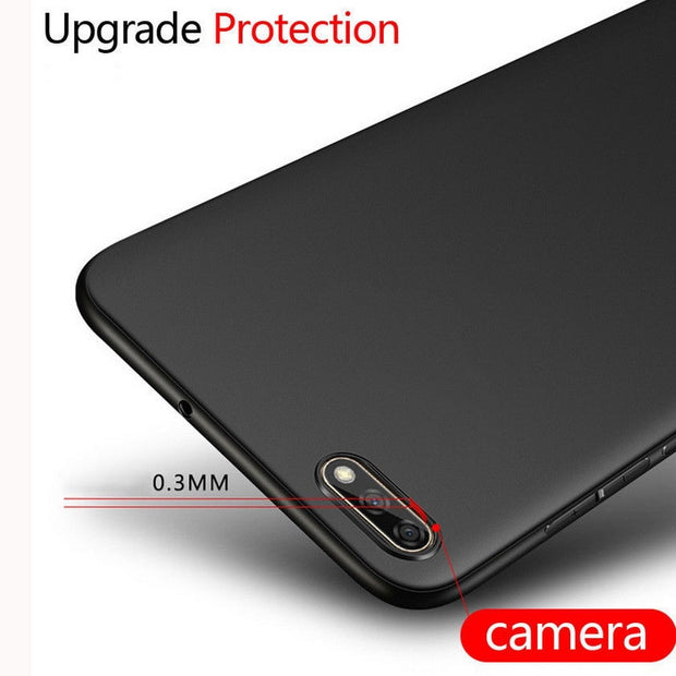 Ultra Slim Silicon Soft Full Coverage Phone Case For Huawei Y5 2017 Y6 Prime Y7 2018 Y9 2019 Mate 20 Pro P20 Lite Honor 7A Cover