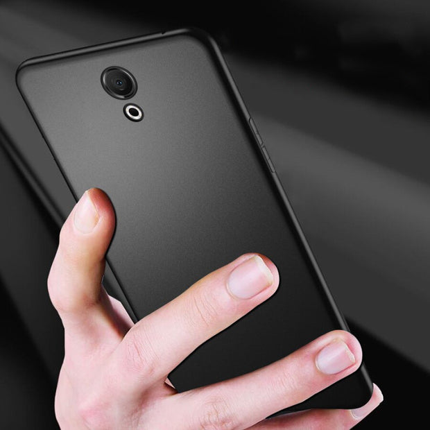 Ultra Thin Black Matte Soft Silicone TPU Case For Meizu M6 M3 M5 S S6 15 Lite 16 MX6 M6 M5 M3 Note 6T M5C Cover Soft Phone Cases
