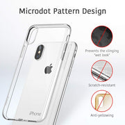 Ultra Thin Clear Transparent TPU Case For IPhone X XS Max XR 6 6s 7 8 Plus 5 5s SE Protective Phone Case Cover Shell Capa