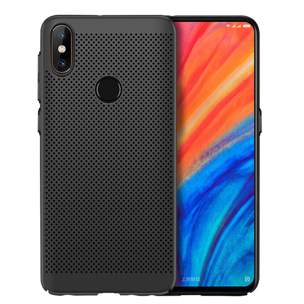 Ultra Thin Heat Dissipation Case For XiaoMi Redmi Note 5 6 Pro Cooling Hollow Hard PC Back Cover For Redmi Note5 S2 Y2 6A Coque