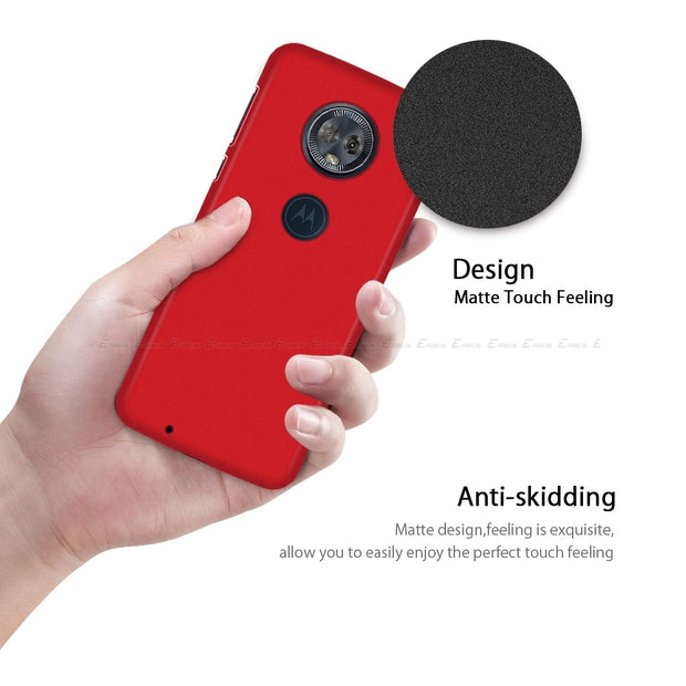 Ultra Thin Matte Hard Phone Case For Motorola Moto Z3 Z2 G6 G5S G5 G4 E5 E4 C Plus Play X4 M Plastic Full PC Back Cover