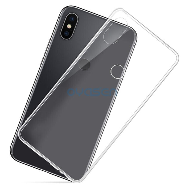 Ultra-Thin Transparent Cases For Xiaomi Mix 2 S 2S Soft Silicone Phone Back Cover Shell For Xiaomi Mix 2 2S Coque Fundas