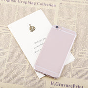 Unique Durable Lightweight Transparent TPU Silicone Case Cover Skin For Apple For IPhone 6/4.7