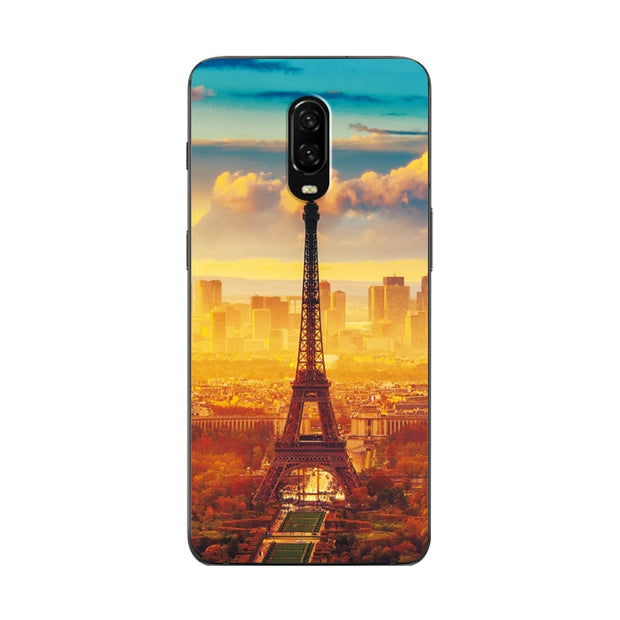 Unique Rose Flower Painted Phone Case For Oneplus 6T 1+6T Silicone Back  Cover For One Plus 6T Cases Capa A6010 6 4 Soft Bumper