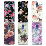 Villa Flora Pink Rose Phone Case For Huawei Mate 20 Pro Mate 10 20 Lite 9 Hard PC Cases For Huawei Mate 20 Pro Case Cover