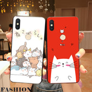 WAIDM For Xiaomi Redmi S2 Case Cover Cartoon Soft Silicone Cover On For Xiaomi Redmi S2 Tpu Phone Case