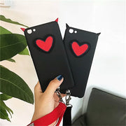 XINGYUANKE For Huawei Mate 20 Lite Case 3D Luxury Love Heart Devil Horns Cover For Honor Note 10 Case Cute Soft Silicone Coque