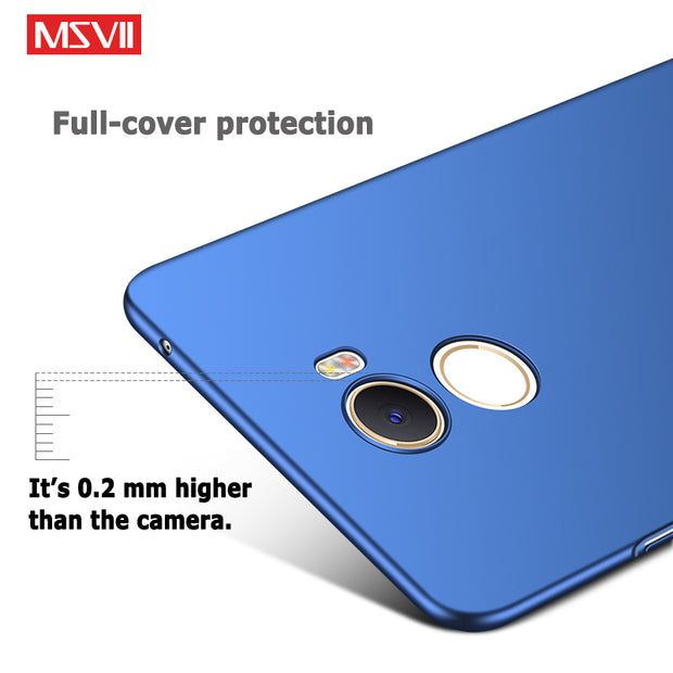 Xiaomi Mi Mix 2 S Case Cover Msvii Silm Matte Cases For Xiaomi Mi Mix 2S Case Xiomi Mix2 S PC Cover For Xiaomi Mi Mix2S Cases