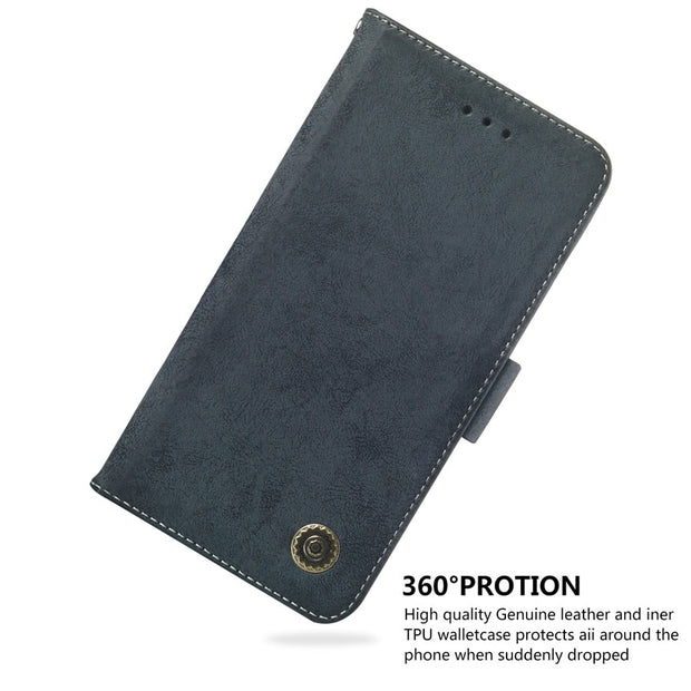 Xiaomi Pocophone F1 Phone Case Etui On For Fundas Xiaomi Poco F1 Cases Luxury Vintage Flip Wallet Leather Stand Back Cover Coque