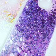 Y6 2018 Case On SFor Fundas Huawei Y6 2018 Soft TPU Liquid Dynamic Case For Coque Huawei Y6 Y 6 2018 Capa Glitter Phone Covers