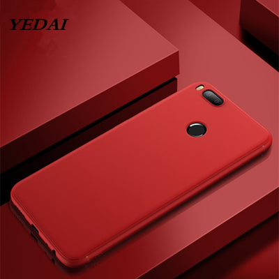 YEDAI Simple Design Soft TPU Back Cover For Xiaomi Redmi Note 4X 4 3 5A Pro Mi Mix 5S 5 5X A1 6 3S 4A 4 Pro 5 Plus Matte Shell