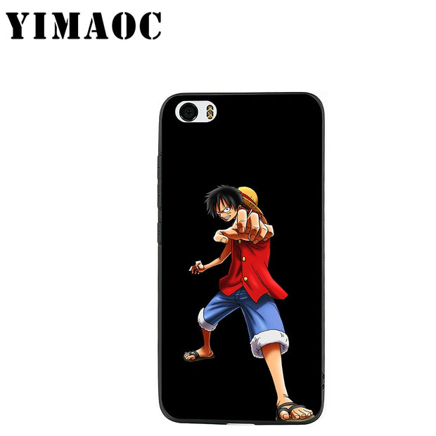 YIMAOC ONE Piece Anime Soft Silicone Case For Xiaomi Redmi Note Mi 8 6 A1 A2 4X 4A 5A 5 Plus MiA1 A2 Pro Lite