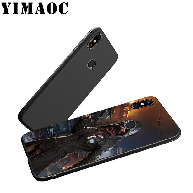 YIMAOC PUBG Game Art Soft Silicone Case For Xiaomi Redmi Note Mi 8 6 A1 A2 4X 4A 5A 5 Plus MiA1 A2 Pro Lite