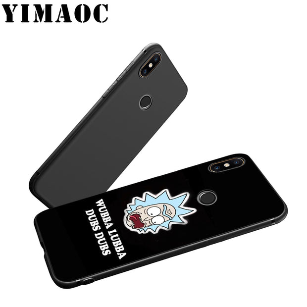 YIMAOC Rick And Morty Soft Silicone Case For Xiaomi Redmi Note Mi 8 6 A1 A2 4X 4A 5A 5 Plus MiA1 A2 Pro Lite