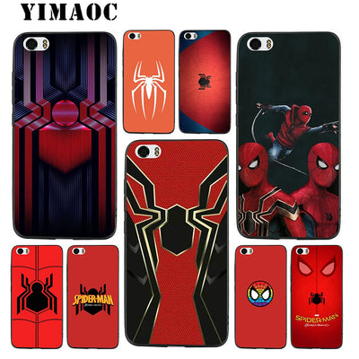 YIMAOC Spiderman Homecoming Soft Silicone Case For Xiaomi Redmi Note Mi 8 6 A1 A2 4X 4A 5A 5 Plus MiA1 A2 Pro Lite