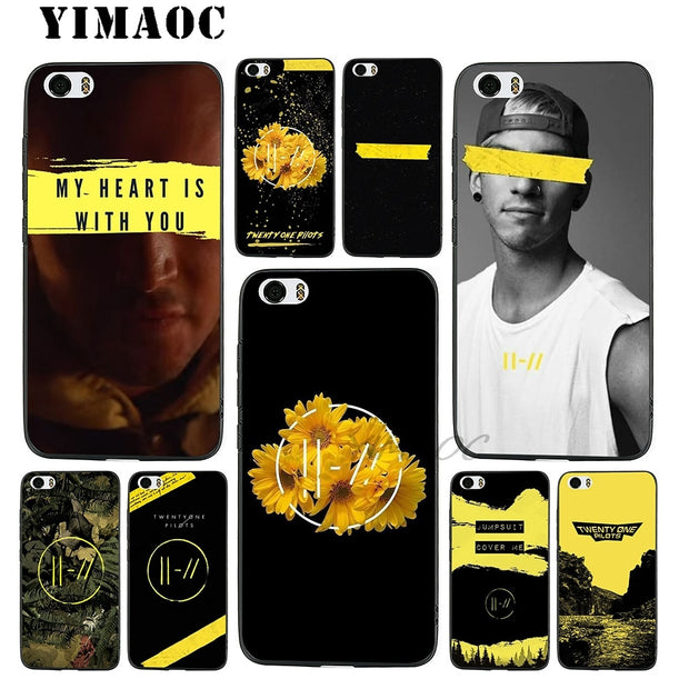 YIMAOC Twenty One Pilots 21 Soft Silicone Case For Xiaomi Redmi Note Mi 8 6 A1 A2 4X 4A 5A 5 Plus MiA1 A2 Pro Lite
