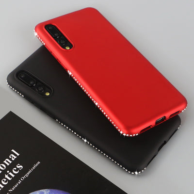 YISHANGOU Diamond Case For Samsung Galaxy S9 S8 Plus S7 Edge Note 9 8 Soft Silicon Back Cover For Huawei P20 Lite P20Pro NOVA3E
