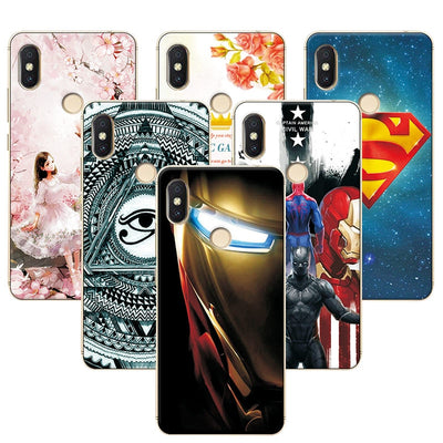 "YOUVEI For Xiaomi Redmi S2 Case Redmi S 2 Soft Silicone Phone Cases Cover For Redmi S2 5.99"" Attractive Super Iron Man Case Fund"