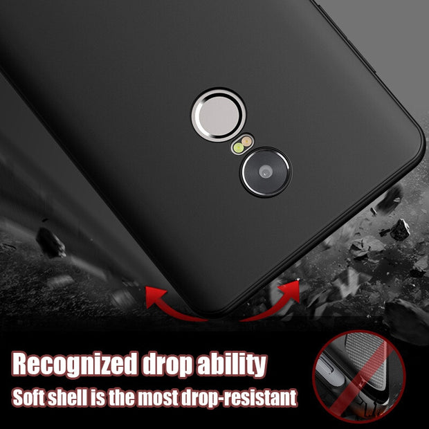 YOYIC Protection Case For Xiaomi Redmi NOTE 4 4X Pro 4A Cover Luxury PC Hard Shockproof 360 Cover For Redmi 4 Pro 4A Case