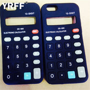 YRFF Calculator Model Silicon Material Soft Phone Case For Apple Iphone 5 5G 5S SE Phone Shell Back Cover Cases