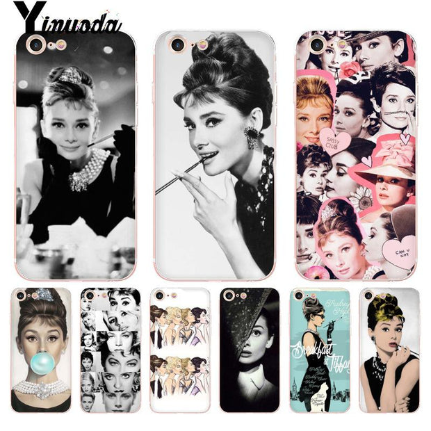 coque iphone 6 audrey hepburn